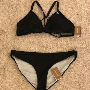 8d9beb4695b Patagonia Swim - Brand New!! Patagonia Black Bikini Top and Bottom